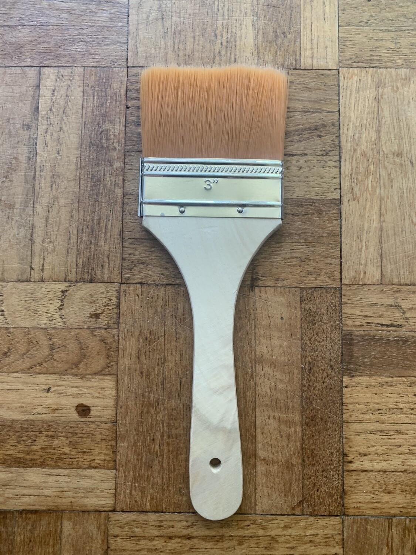 "3"" Flat Artist's Brush"