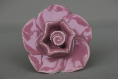 Vintage Rose Ceramic Flower Knob