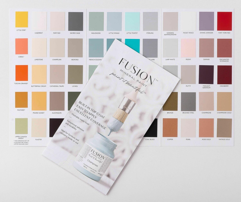 Fusion Colour Chart