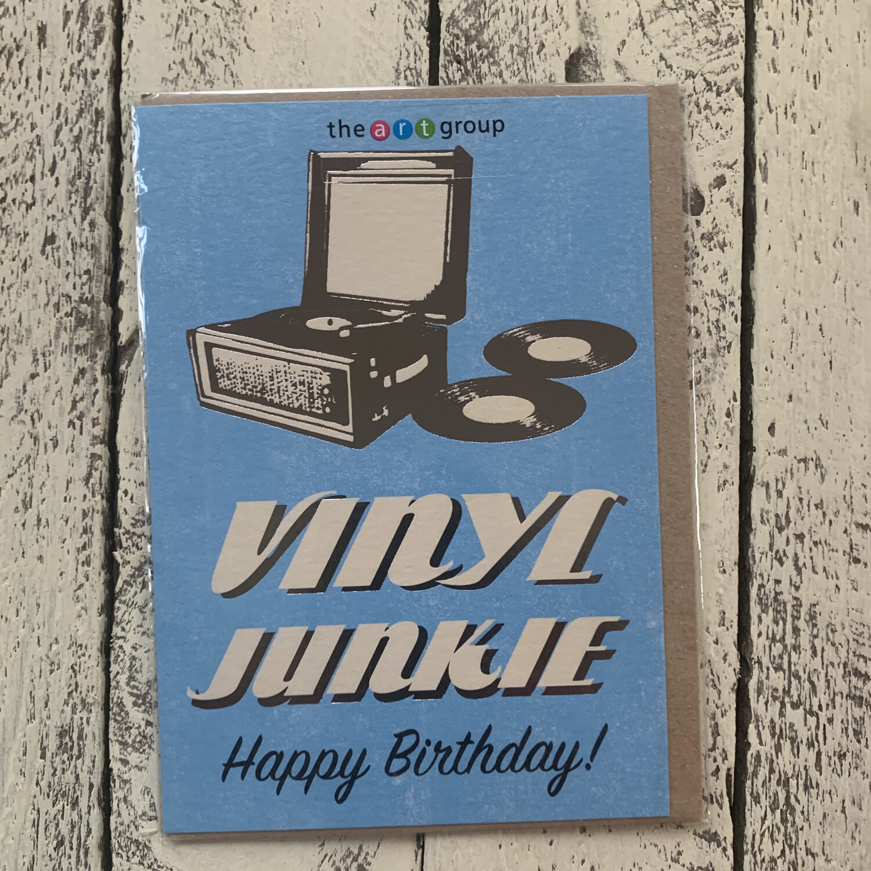 Old Skool Greetings Cards - Vinyl