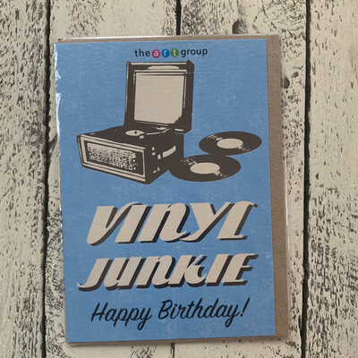 Old Skool Greetings Cards - Vinyl