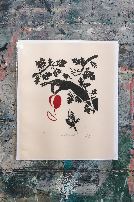 'Poisoned Apple' by Sarah Bennett Artist