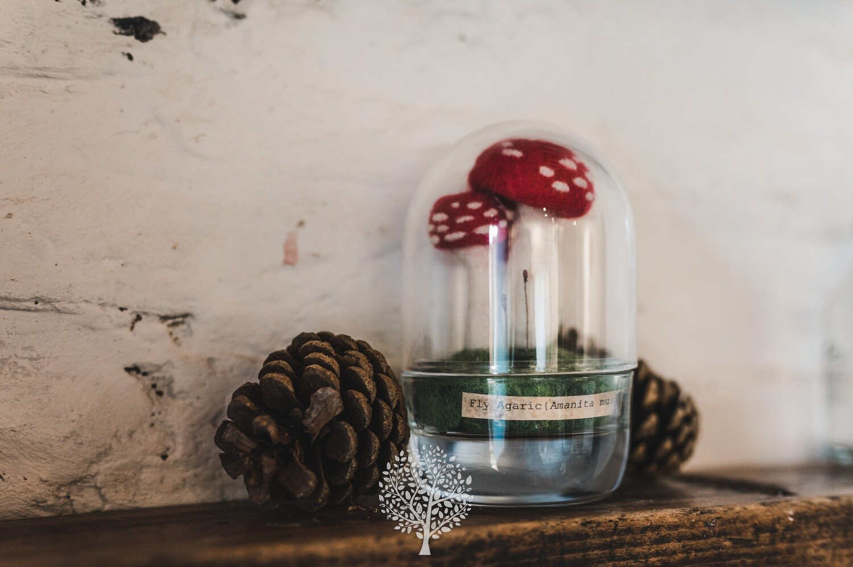 Mushroom Dome by Felty Bits