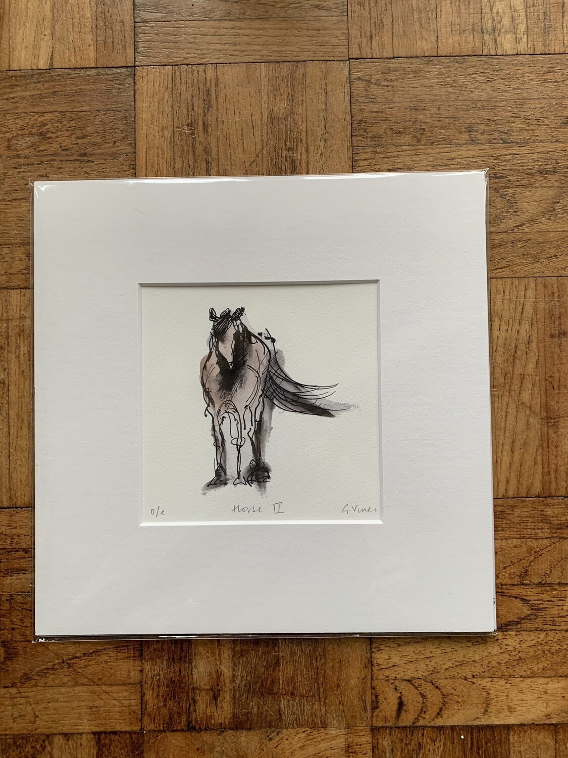 Horse II by Gill Vines