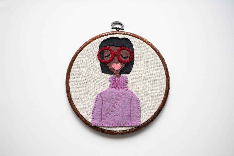 Cosy Clara Make Do & Mind Embroidery Kit