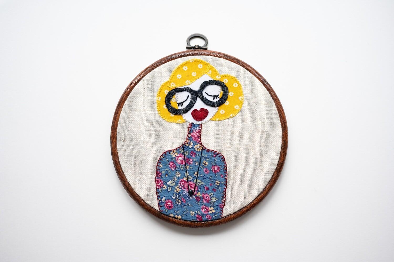 Funky Flora Make Do & Mind Embroidery Kit
