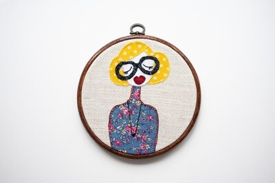 Funky Flora Make Do & Mind Embroidery Sewing Kit