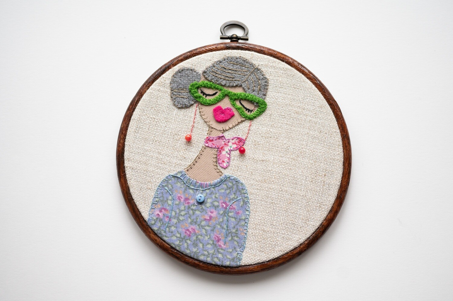 Snazzy Jazzy Make Do & Mind Embroidery Sewing Kit