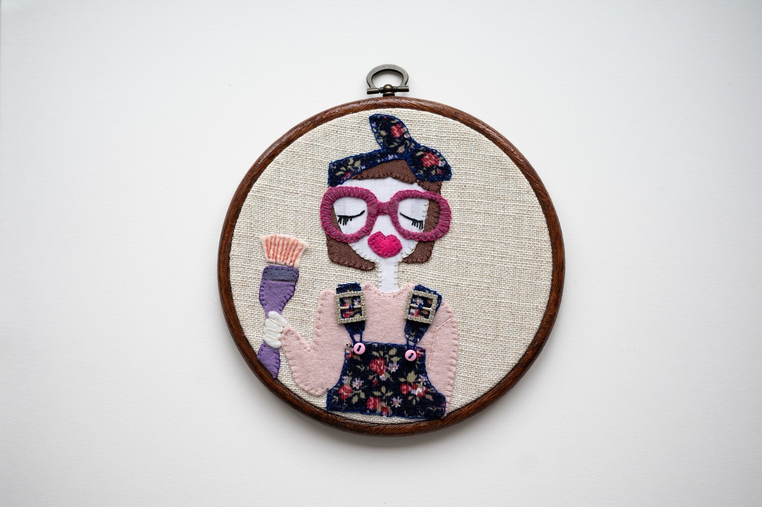Painty Katie Make Do & Mind EmbroiderySewing Kit