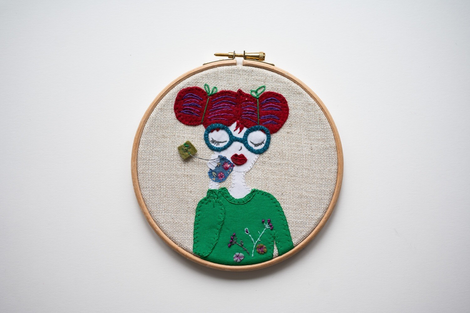 Rosie Lee Make Do & Mind Embroidery Kit