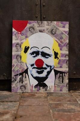 Boris The Capitalist Clown by Rob Holmes