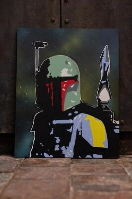 Boba Fett from Star Wars by Rob Holmes