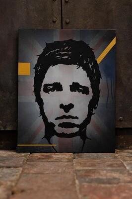 Noel Gallagher by Rob Holmes