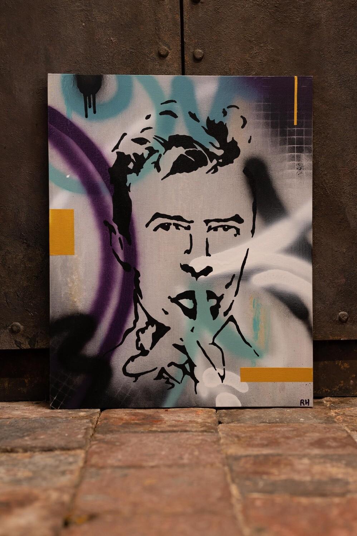 Graffiti David Bowie by Rob Holmes