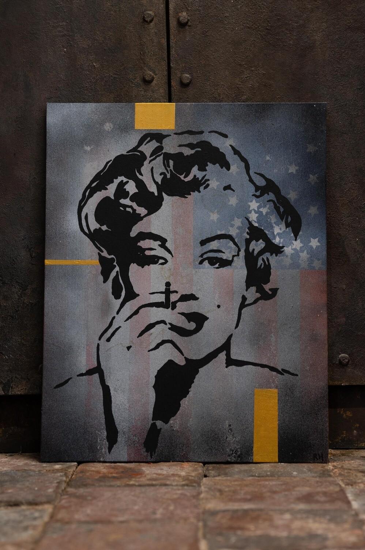 Marilyn Fallen Star by Rob Holmes