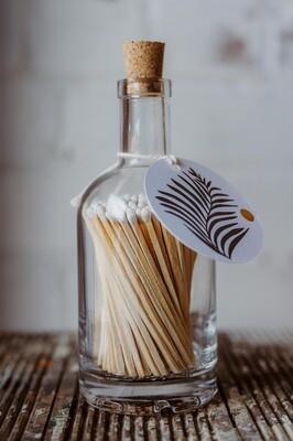 Luxury Matches in Match Bottles