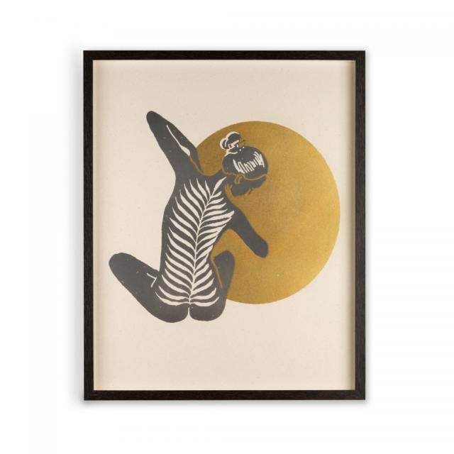 Tranquil Yoga Eco Print