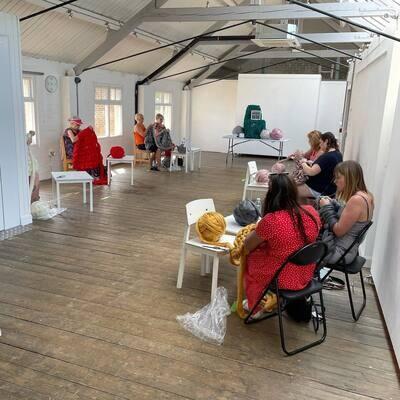 Arm Knitting Workshop - Saturday 23rd October 1.30 - 3.30pm