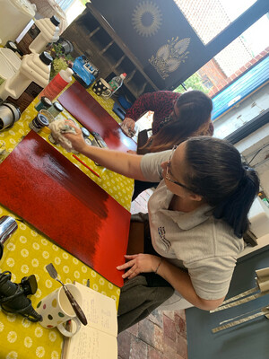 Glazing 1 with Lesley Anne Kinney -  NEW DATE 10am - 4pm 9th October
