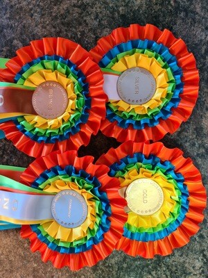 Online Good Hoopers Awards Rosettes