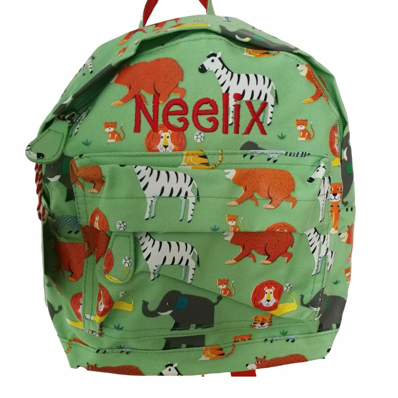 Animal Park Personalised Children's Backpack