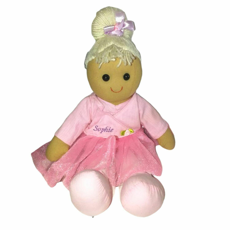 Ballerina Personalised Rag Doll 40cm
