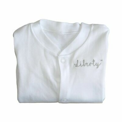 Cute Personalised Baby Sleepsuit with Embroidered Name or Initials