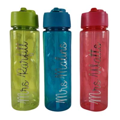 Large Personalised Water Bottles - Name Drinks Bottle 550ml