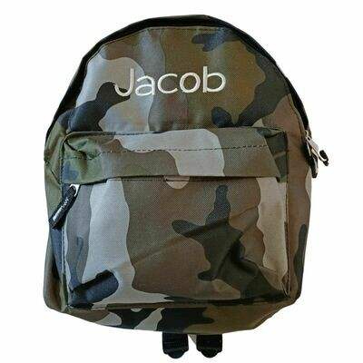 Personalised Children's Camo Backpack