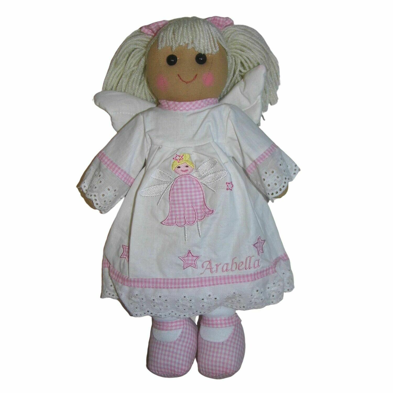 Personalised Rag Doll Angel 40cm