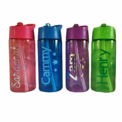 Personalised Water Bottles - Name Drinks Bottle 400ml