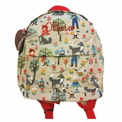 Red Riding Hood Personalised Children's Backpack