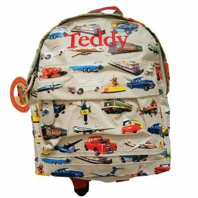 Vintage Transport Personalised Children's Backpacks