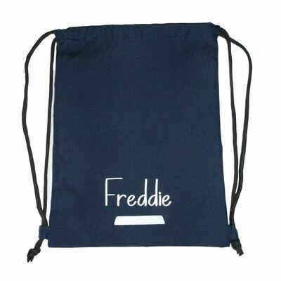 Personalised School P.E Drawstring Bag