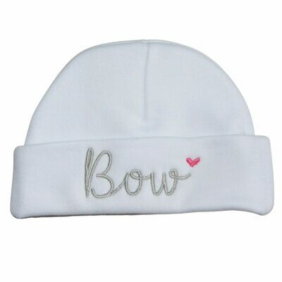 Personalised Baby Hat - Newborn to 3 Months