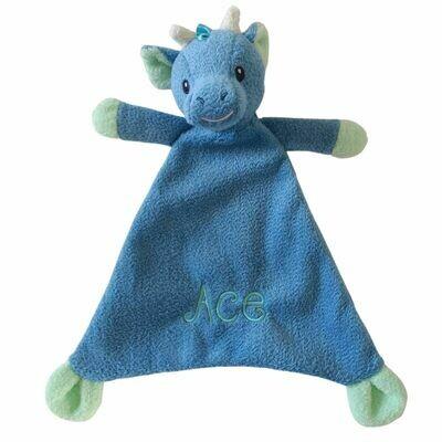Dragon Personalised Baby Comforter Comfort Blanket
