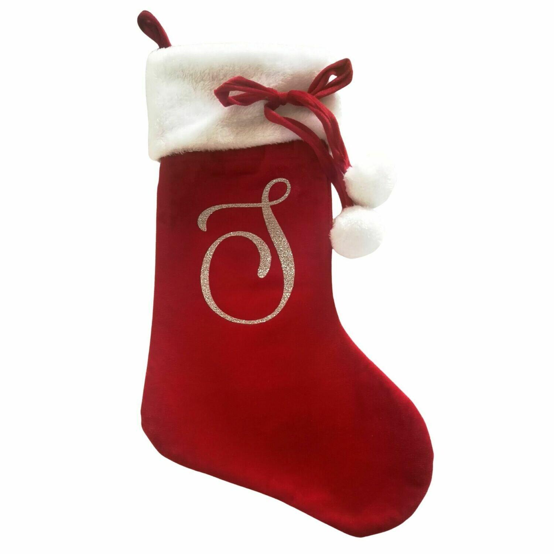 Personalised Pom Pom Christmas Stocking