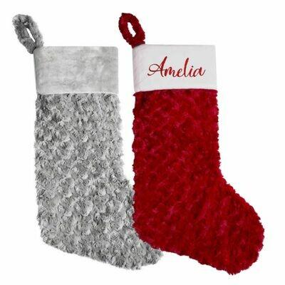 Plush Personalised Christmas Stocking