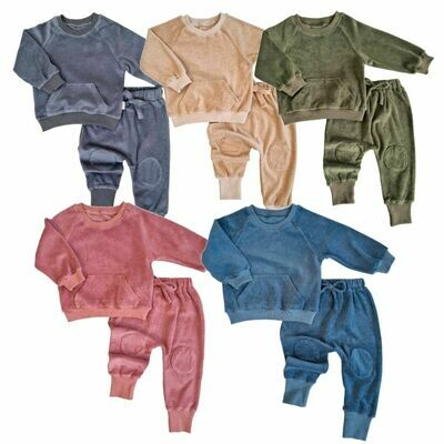 Personalised Towelling Children's Tracksuit