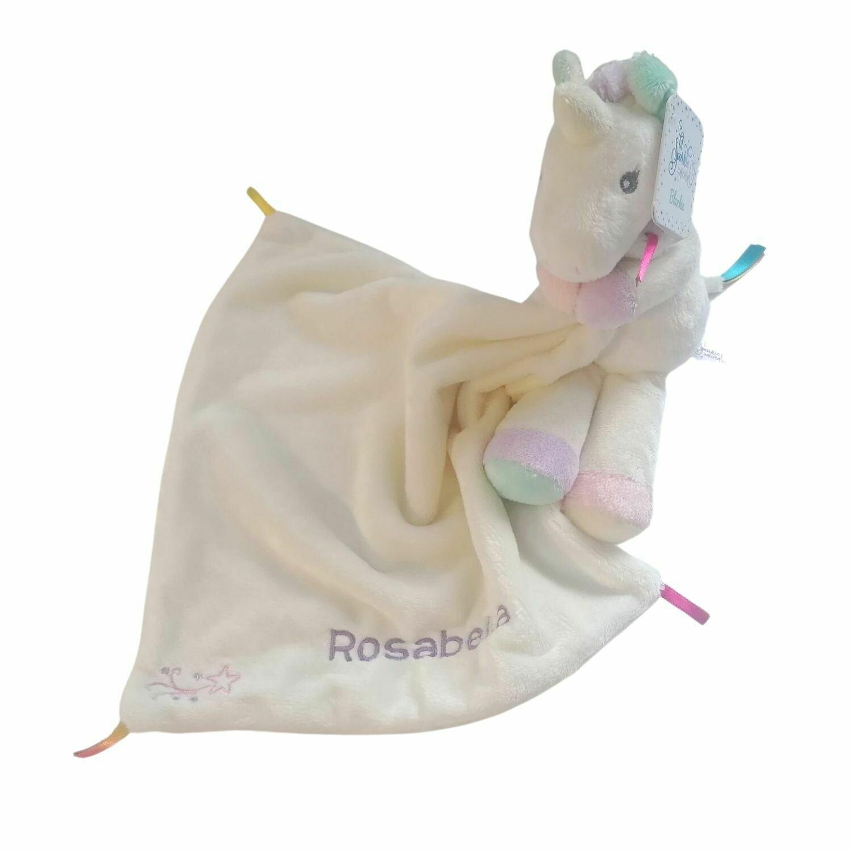 Personalised Unicorn Comforter Baby Blanket