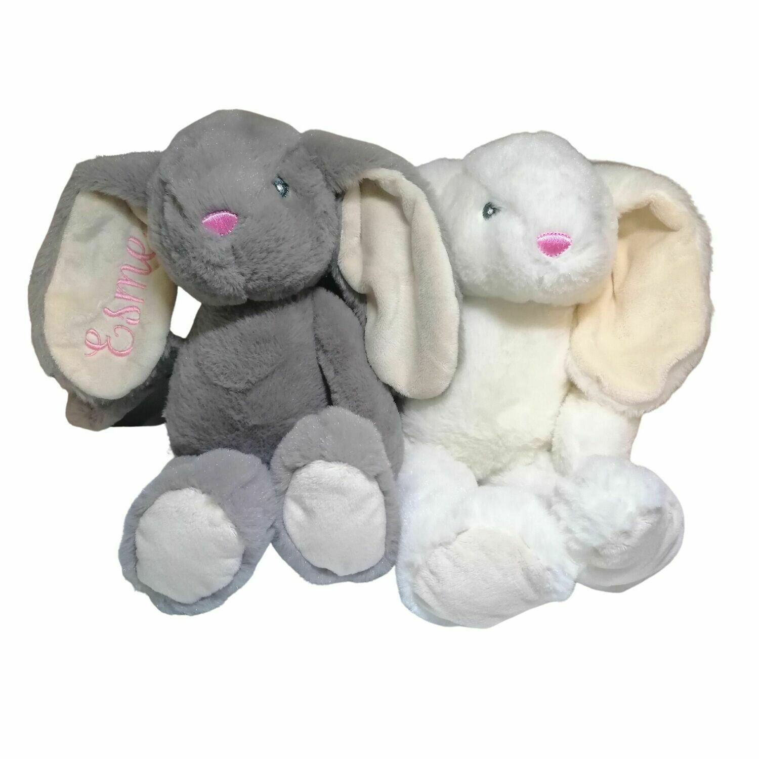 Embroidered Personalised Bunny Rabbit Soft Toy - 36cm Medium