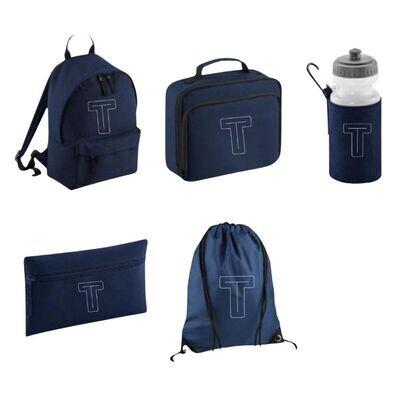Personalised Children's School Backpack Set