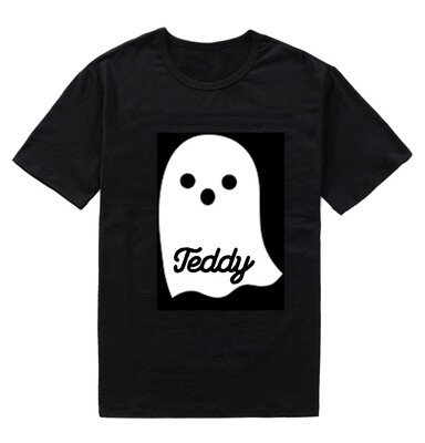 Children's Personalised Halloween Ghost T-Shirt