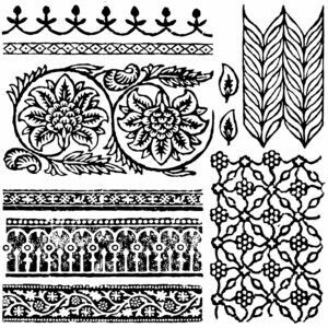 "IOD DECOR STAMP™ ""BOHEMIA"""