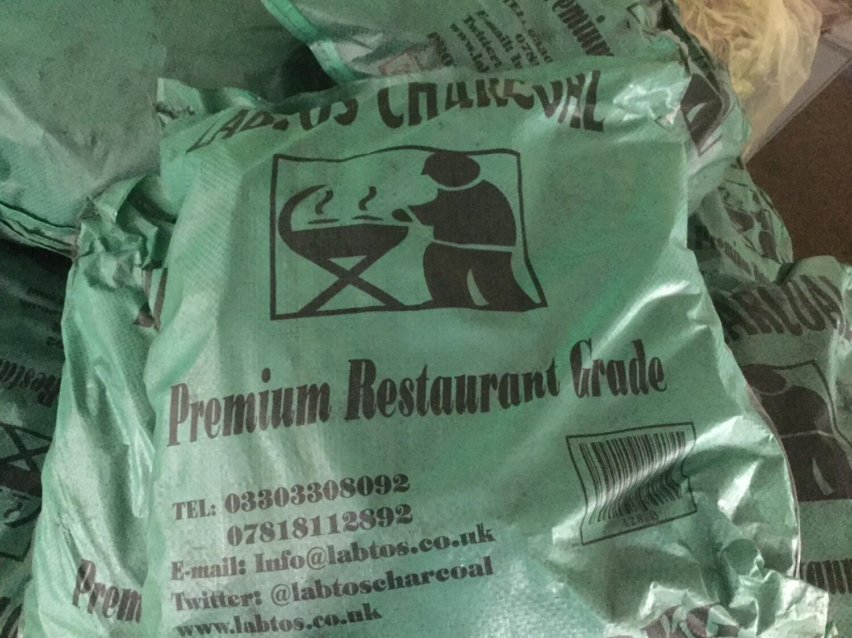 BBQ Charcoal Restaurant Grade 12kg Bag