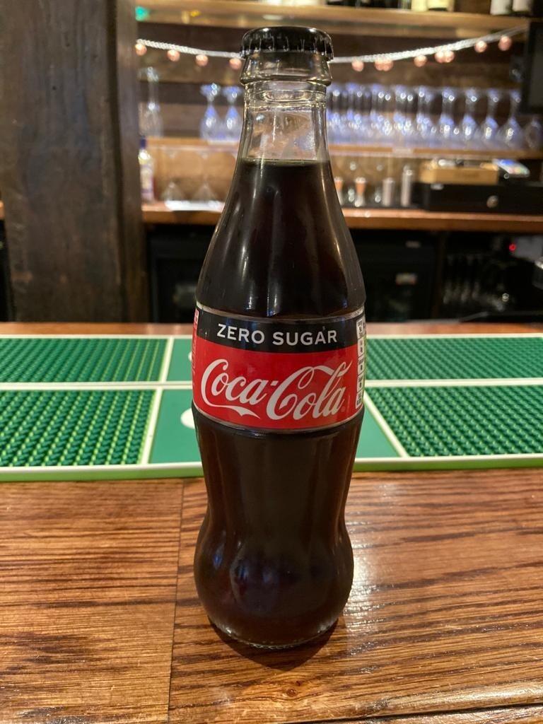 Coke Zero 330ml Bottle
