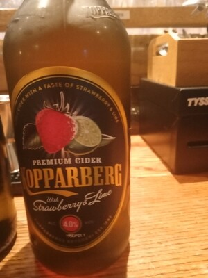 Koppaberg Strawberry and Lime Cider 500ml