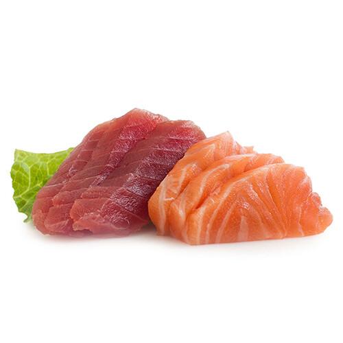 Zalm / tonijn sashimi