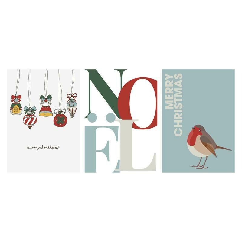 Christmas Cards - Set of 15 - The NICE Set