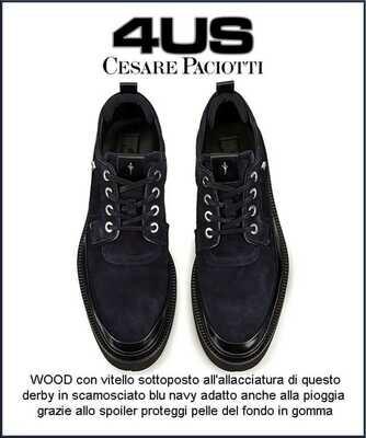 PACIOTTI  WOOD 4US SCARPE